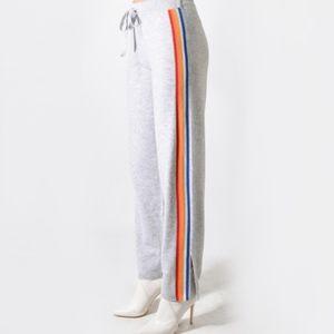 PRVLG Cashmere Jogger w/ Side Stripe